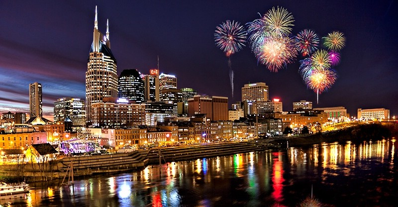 Nashville New Years Eve 2018