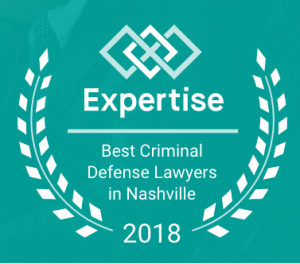 Award for best criminal defense lawyers in Nashville 2018