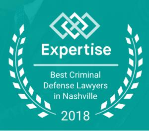 Award for best criminal defense lawyers in Nashville 2018